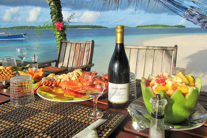 Treasure Island Beach Dining